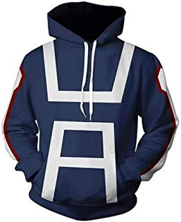 Wish Costume Shop My Hero Academia Hoodies Todoroki Shoto Cosplay Costume
