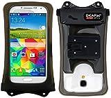 DiCAPac Action wasserdichte Handyhülle für HTC One M8s, M9, M9 Prime Camera Edition, Mini 2 - Handytasche wasserdicht bis zu 10m IPX8 - inkl. Cliphalter und Haltersystem
