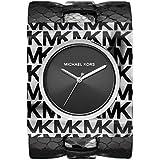 Michael Kors Women's Willa Quartz Watch with Leather Strap, Black, 12 (Model: MK2854)