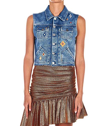 Luxury Fashion   Pepe Jeans Dames PL40182601000 Donkerblauw Katoen Gilets   Lente-zomer 20