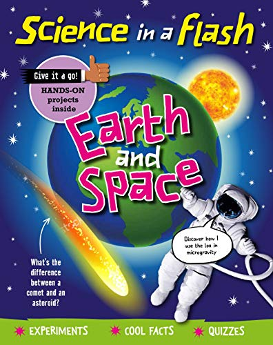 Earth and Space (Science in a Flash Book 36) (English Edition)