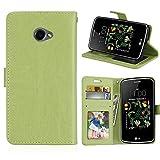 DIKAS for LG K5 X220 Case, Flip Case Flexible PU Premium