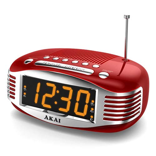 AKAI 9204496 | CE-1500 Radiowecker im Retro-Stil