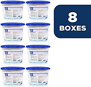 Dry & Dry [8 Packs [Net 10 Oz/Pack] Premium Moisture Absorber to Control Excess Moisture for Basements, Closets, Bathrooms, Laundry Rooms. No More Damp, Mold