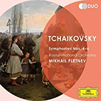 Duo-Tchaikovsky: Symphonies Nos. 4 5 & 6 Pathetiqu