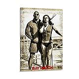 Baywatch 12 Vintage-Poster mit klassischem Film-TV-Motiv,