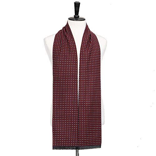 ZHANGQIAO-EU For Hombre otoño Invierno rápida Bufanda Rayada cuadrícula pañuelo for el Cuello del tartán de Paisley Bufandas Pañuelos de Bandelet 180 * 30cm Bufanda (Color : 4, tamaño : 180 * 30CM)