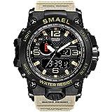 Smael Reloj Militar para Hombre Reloj De Pulsera Impermeable