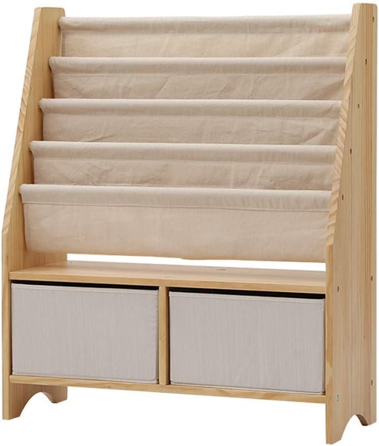 LWKBE Solid Wood Kids Book Shelf Rack Organi Sale Long-awaited Special Price Storage Sling Toys