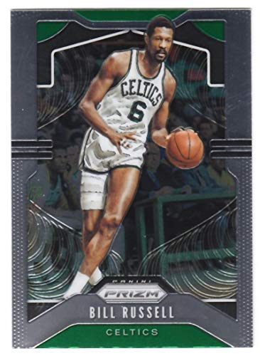 2019-20 Prizm NBA #21 Bill Russell Boston Celtics Official Panini Basketball Trading Card