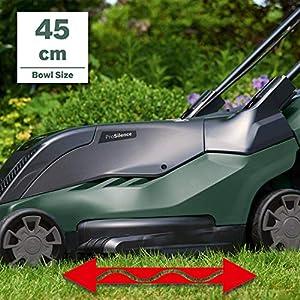 Bosch Elektro Rasenmäher AdvancedRotak 750 (1700 W, Arbeitsbreite : 45 cm, Rasenflächen bis 750 m², im Karton, Generation 5.2)