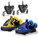 Kidirace Remote Control Cars | Remote Control Bumper Cars | Set of 2 with...