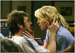 Grey's Anatomy Jeffrey Dean Morgan Emotionally Embracing Katherine Heigl from his Hospital Bed 8 x 10 Photo