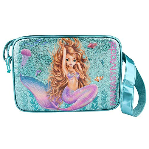 Top Model Bolso Bandolera Fantasy model Mermaid Bolso Bandolera, 40 cm, Multicolor