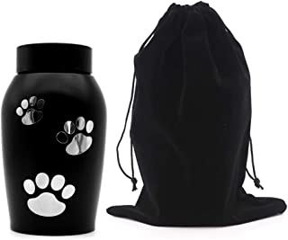 LINGRAN Pet Memorial Urns,Ash Urns for Dogs, Cats and Other Pets