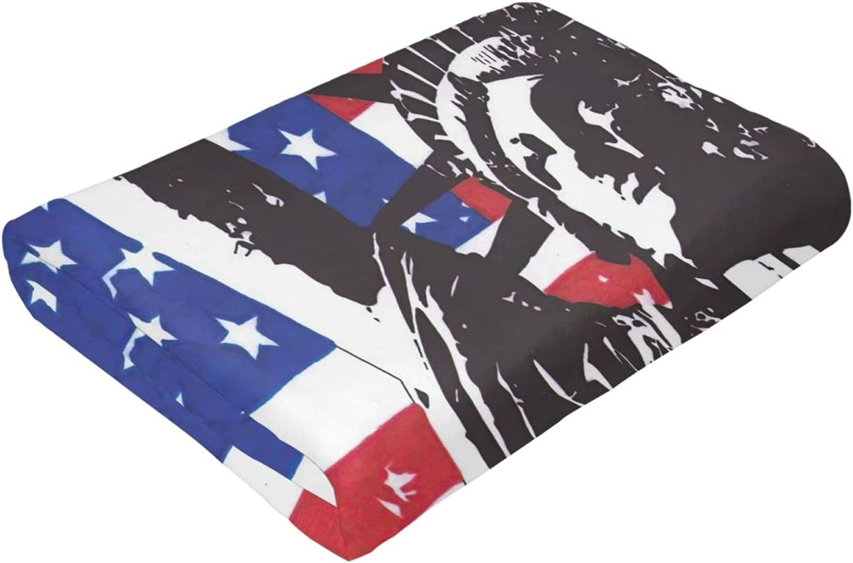 US Statue of Liberty Flag Throw Blankets Raleigh Mall Warm Campi Lightweight Luxury goods