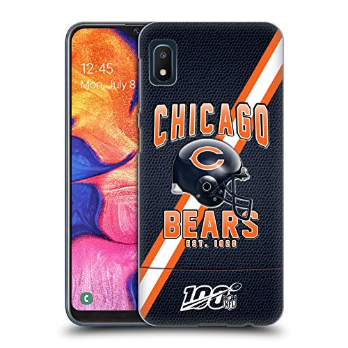 Head Case Designs Officially Licensed NFL Football Stripes 100th 2019/20 Chicago Bears Hard Back Case Compatible with Samsung Galaxy A10e (2019)
