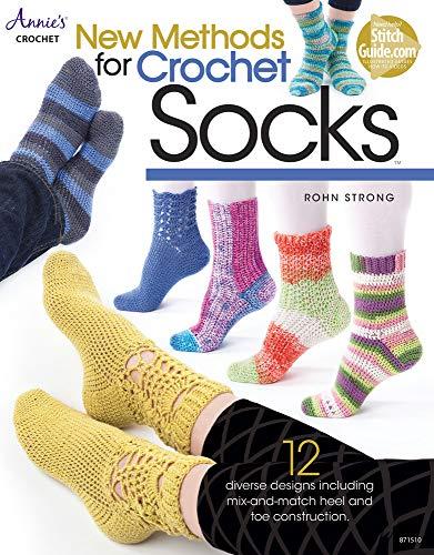 New Methods for Crochet Socks: 12 Diverse Designs (Annie's Crochet)