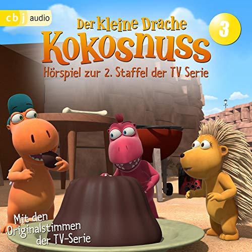 Amadeus in Gefahr / Der Meisterkuchenbäcker / Gewusst Wie / Wettstreit der Kuscheltiere: Der Kleine Drache Kokosnuss - Hörspiel zur 2. Staffel der TV-Serie 3