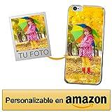 Funda Personalizada para Apple iPhone 6 / 6s con tu Foto, Imagen o Escritura - Estuche Suave de Gel TPU Transparente - Impresión