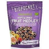 Biopocket - Cóctel de frutas secas ecológicas, 2 bolsas de 250 g