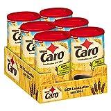 Nestlé CARO Landkaffee, lösliches Pulver aus Gerste, Gerstenmalz, Zichorie und Roggen, koffeinfrei, 6er Pack (6 x 200g)