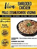 VIVA PLANTA POLLO DESHILACHADO VEGANO 250g || Sin Gluten | Vegan | Sin carne | 100% Vegetal | Plant Based | Sin Gluten