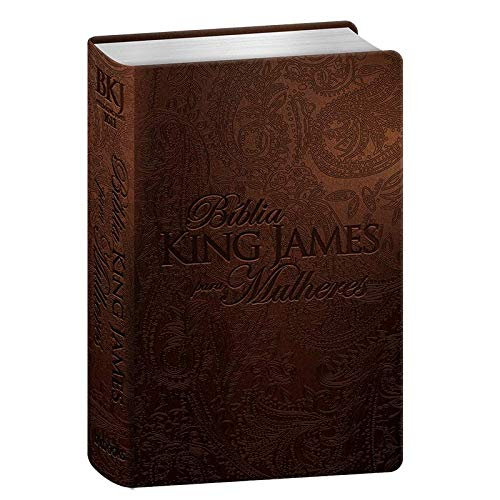 Bíblia King James Para Mulheres - Marrom