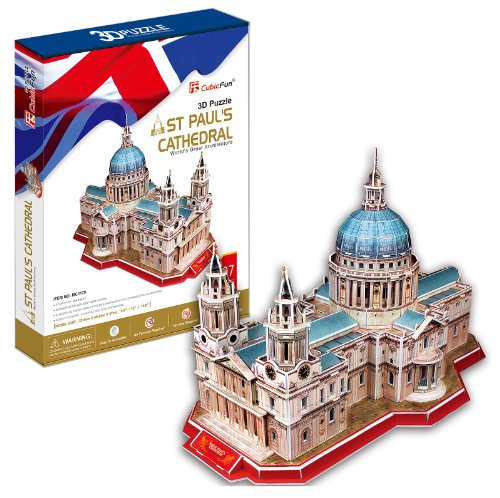 3D three-dimensional puzzle St Paul's Cathedral (japan import)