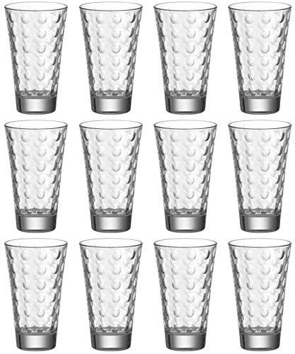 LEONARDO HOME Becher Ciao, Glas, Wasserglas, Set 12-teilig