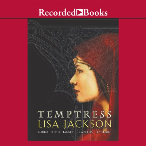 Temptress audiobook cover art