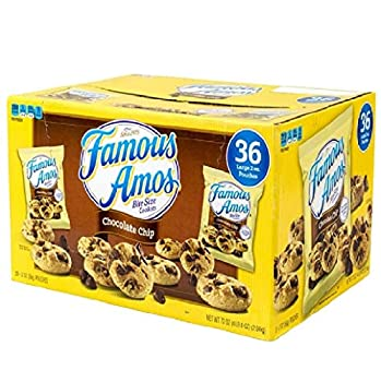 Famous Amos Chocolate Chip Cookies - 36/2 oz by Famous Amos [Foods]