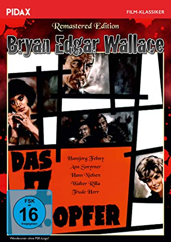 Bryan Edgar Wallace: Das 7. Opfer - Remastered Edition / Spannender Gruselkrimi mit Starbesetzung + Bonusmaterial (Pidax Film-Klassiker)