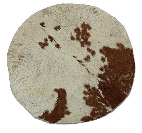 Ziegenfell,Trommelfell, mit Haar 18 Zoll 45,7cm / Djembetrommelfell aus Ziegenhaut und -haar, natürlich