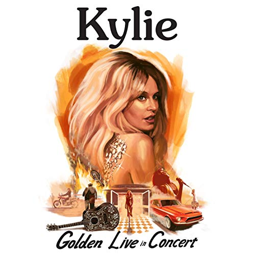 Kylie-Golden-Live in Concert (2CD+DVD)