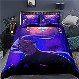 GD-SJK Amacigana Disney Soul - Juego de ropa de cama con película de animación en 3D, ropa de cama infantil para niños y niñas, funda de almohada de 80 x 80 cm (Soul7,200 x 230/80 x 80)