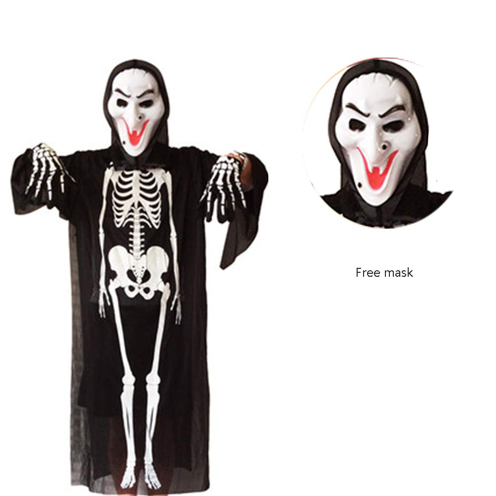 Disfraces de Esqueleto de Halloween, Cosplay Mummy Ghost Reaper ...