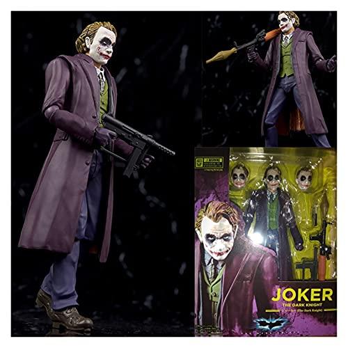 Letaowl Action Figure Cartoon Quinn Joker Action Action Figure Giocattolo Modello da Collezione (Color : G with Box)