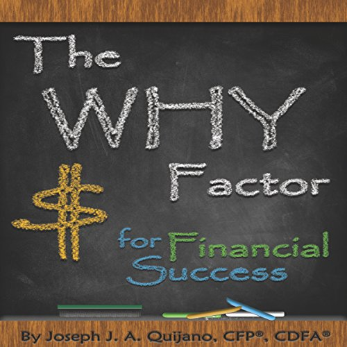 The Why Factor for Financial Success audiobook cover art