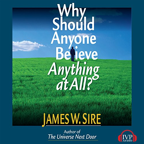 Why Should Anyone Believe Anything at All audiobook cover art