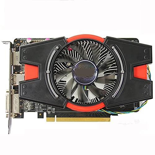 MPGIO FIT FOR ASUS HD7750 1GB Tarjeta gráfica HD7750-1GD5 128Bit GDDR5 Tarjetas de Video para AMD Radeon HD 7750 HDMI DVI Displayport HD 7750 1G
