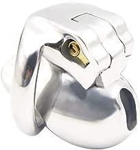 Chasteness Stainless Steel Male Metal Waterproof Trainer Comfortable Sleek Hypoallergenic for Men Beginners 365 (Size : 50mm)