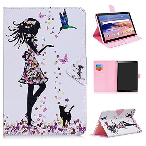 DETUOSI Cover per Samsung Galaxy Tab A6 10.1 2016 (SM-T580/T585/T587) Custodia Rigida Samsung Galaxy Tab A6 Protettiva Case SM-T580/T585/T587 Book Cover