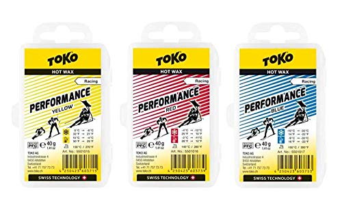 Toko Race Wax Serie Performance, 3x40g