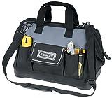 Stanley Werkzeugtasche (44,7 x 27,5 x 23,5 cm, robuster Kunststoffboden, verstärkte Ecken, stabiles...