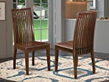 East West Furniture Ipswich dining room chair - Wooden...