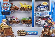 AUTHENTIC PAW PATROL VEHICLES: With realistic details, graphics, working wheels and metal material, the 1:55 scale True Metal vehicles look just like PAW Patrol's Off-Road vehicles from the show! REAL WORKING WHEELS: Featuring working wheels, True Me...