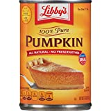 Libbys 100% Pure Pumpkin Pie Filling 425 g (Pack of 4)