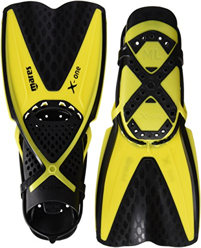 Mares X-One Flossen, Yellow, M/L