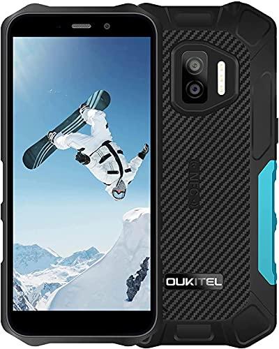 OUKITEL WP12 Rugged Smartphone in Offerta, Dual 4G Impermeabile Android 11 Antiurto Telefono Robusto, IP68 IP69K 4+32GB Telefonia Cellulari Economici, 5.5  HD+ 4000mAh Batteria, Triple Camera, NFC GPS